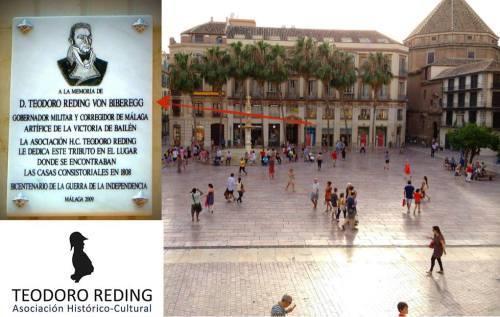 Placa_Teodoro_Reding_general_gobernador_Malaga-Theodor_Biberegg_ Asociacion_Historico_Cultural_Plaza_Constitucion
