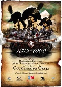 Cartel_Recreación_Colmenar_Oreja_Guerra_Independencia