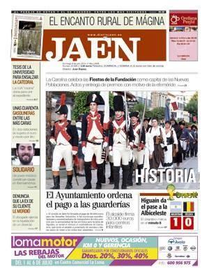 Diario_Jaen_noticia_colaboracion_Regimiento_Suizo_Reding_3_Asociacion_Teodoro_Reding_Malaga_fundacion_Carolina_Nuevas_Poblaciones_Sierra_Morena_Andalucia_Carlos_III