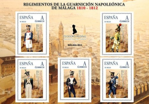 sellos_regimientos_napoleonicos_Malaga_1810_1812_Asociacion_Teodoro_Reding