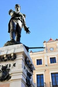 Capitan_Vicente_Moreno_Baptista_estatua_Antequera_Francisco_Palma