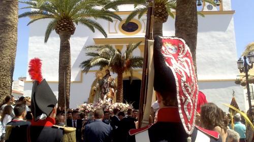 Regimiento_Reding_Asociacion_Teodoro_Reding_Malaga_escolta_de_honor_Cofradia_Pollinica_Alhaurin_de_la_Torre_2014_Mayordomo_de_Honor
