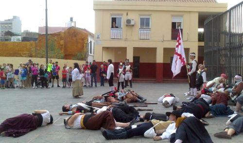 V_Ruta_Malaga_1810_recuerdo_escenificacion_plaza_San_Pablo_La_Trinidad_Asociacion_Historico_Cultural_Teodoro_Reding_Malaga