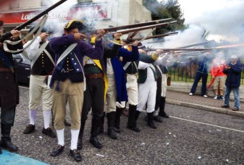 Recreacion_historica_conmemoracion_batalla_Vinegar_Hill_Enniscorthy_battle_Ireland_Irlanda_Eire_1798_2014_Lord_Edwards_Own_Jon_Valera