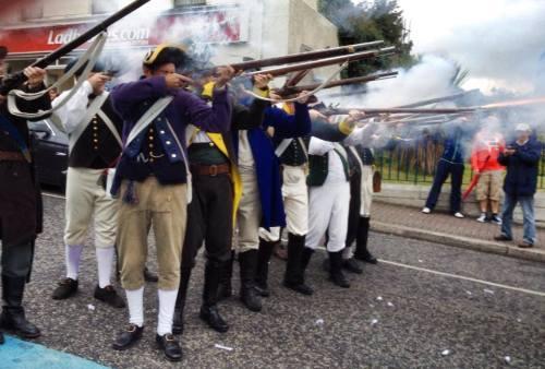 Recreacion_historica_conmemoracion_batalla_Vinegar_Hill_Enniscorthy_battle_Ireland_Irlanda_Eire_1798_2014_Lord_Edwards_Own_Jon_Valera