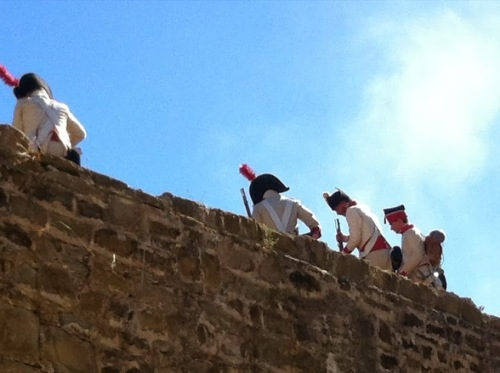 Recreacion_Historica_murallas_sitio_de_Tarifa_1812_Cadiz_Reenactment_of_the_Siege