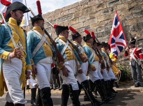 Recreacion_Historica_Sitio_Tarifa_1812_Cadiz_Regimiento_Irlanda