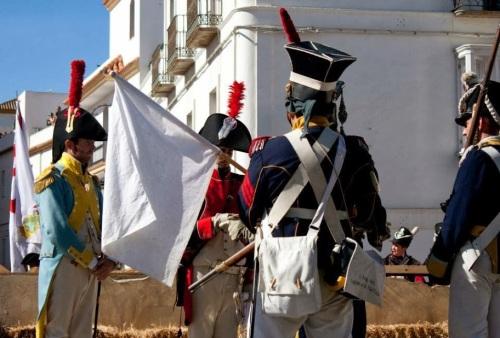 Recreacion_Historica_Sitio_Tarifa_1812_Leval_insta_la_rendicion