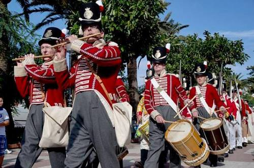 Recreacion_Historica_Sitio_Tarifa_Cadiz_España_1812_87th_Regiment_Foot_Reenactment